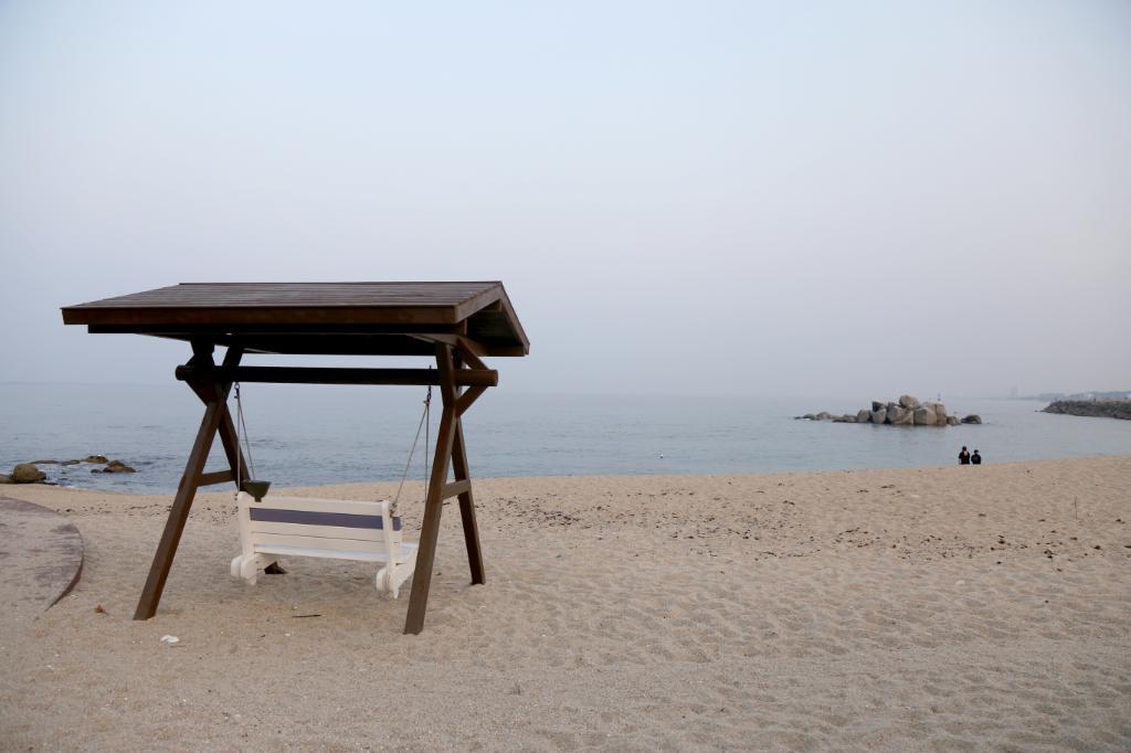 사천진해변