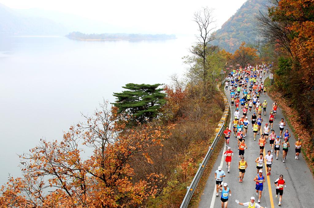 조선일보춘천마라톤대회