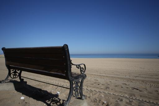 안목해변 2
